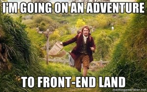 Me, going on an adventure